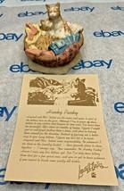 "Lowell Davis ""Hanky Panky"" Figurine  1989 Schmid Cats Basket 225298 - $69.28"