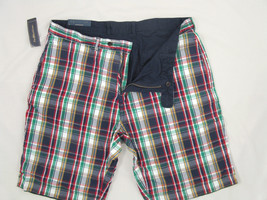NEW! NWT! $90 Polo Ralph Lauren Reversible Shorts!  40  *Navy Reverses to Plaid* - $59.99