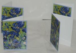 Caspari 87609 46 Van Gogh Irises 8 Assorted Boxed Notes With Envelopes image 3