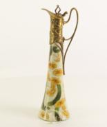 Porcelain Bowl Vintage Porcelain with 100% Bronze Wedding * Free Air Pri... - $169.00