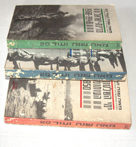 1968 3 Book Set in Box Photographed History of Eretz Israel Hebrew Judaica image 5