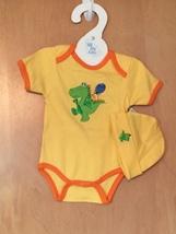 Baby Boy's Dragon Onesie & Hat Set 0-6 Months - $15.00