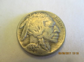 1930 S INDIAN HEAD NICKEL  - $2.00