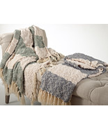 Fennco Styles Nubby Design Striped Throw Blanket, 2 Colors - $49.99