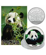 WR 2019 China Panda $100 Silver Commemorative Coin World Animal Protection - $4.05