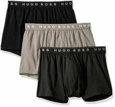 Hugo Boss Men's Natural Pure Cotton 3 Pack Underwear Boxers Trunks image 4