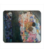 Death and Life Gustav Klimt Art Computer Mouse Pad Mat Mousepad New - $8.95