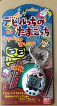 Tamagotchi Devil Deviltchi Devilgotchi White/Black Pet Game BANDAI Brand New F/S - $651.42
