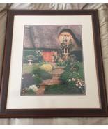 John P Debora Scanlan Cottage Walk Cotswolds England Photograph Numbered... - $764.73
