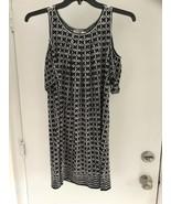 Max Studio XS colder shoulder black and white dress NWT - $21.26