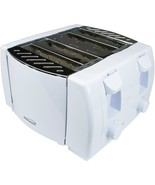 Brentwood Appliances TS-265 Cool Touch 4-Slice Toaster (White) - $42.00