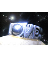 HAUNTED RING TOUCH OF ULTIMATE LOVE ENHANCEMENT RARE POWER MAGICK OOAK M... - $9,117.77