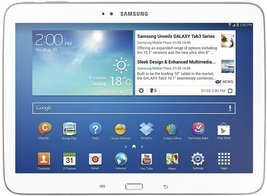 """samsung galaxy tab 3 10.1 p5210 white 1gb 16gb dual core 10.1"""" android t... - $199.99"""