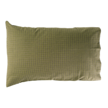 Tea Cabin Green Plaid Pillow Case - Set of Two - VHC Brands - Country Farmhouse