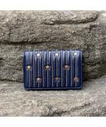 Tory Burch Fleming Star-Stud Slim Medium Wallet - $200.00