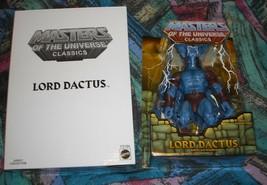 Lord Dactus MOTUC Masters of the Universe Classics MOSC MOC He-Man Skeletor - $42.00