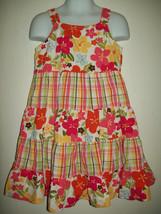 Gymboree Girls Dress Sz 5 Floral Aloha Sunshine Hawaiian Sundress Spring Summer - $21.55