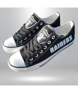 raiders shoe women sneakers mens fashion raiders tennis shoe oakland fan... - $54.89+