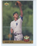 DEREK JETER RC 1993 Upper Deck #449 ROOKIE Yankees - $7.49