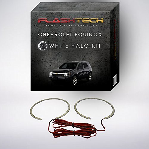Primary image for FLASHTECH for Chevrolet Equinox 05-09 Xenon Brightest White LED Halo Ring Headli