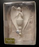 Seasons Of Cannon Falls Christmas Ornament Angelica Dream Angel Porcelai... - $12.99