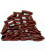 Set of CHILD Size Thin RED Line Bracelets Fire Fighter Department Wristb... - £4.24 GBP+