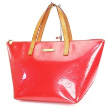 Auth LOUIS VUITTON Bellevue PM Orange Sunset Vernis皮革手提包-$ 459.00