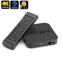 MINIX NEO U1 TV Box - 4K UHD, Kodi 16, Quad Core Amlogic S905 CPU, 2GB RAM - $197.99