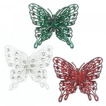 Festive Butterfly Ornament Set - $19.43