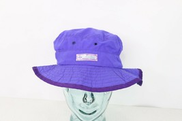 Vintage 90s Columbia Unisex Medium Spell Out Boonie Bucket Hat Cap Purpl... - $34.60