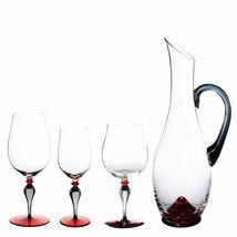 Nason Moretti Divini Bordeaux Vin Calice Murano Verre DIVINI03 Neuf en Boîte image 5