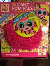 Ladybug Mommy & Baby Stuck On Fun Let's Make Giant Pom Pals DIY Plush & ... - $29.99