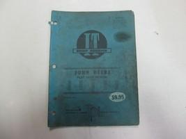 John Deere I & T Shop Service Flat Rate Manual 820 THRU 6030 Models STAI... - $14.80