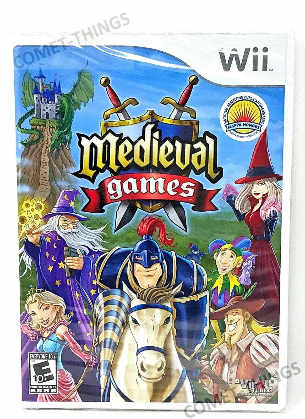 MEDIEVAL GAMES for NINTENDO WII ~ NEW & SEALED