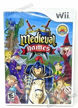 MEDIEVAL GAMES for NINTENDO WII ~ NEW & SEALED image 1