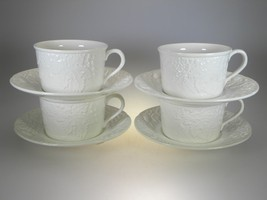 Mikasa English Countryside Cups & Saucers Set of 4 - $14.80