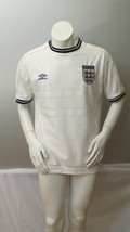 Vintage Team England Jeresey - 1999 Home Jersey by Umbro - Men's Large  - $75.00