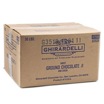 Ghirardelli Sweet Ground Chocolate and Cocoa Powder (30 lbs)(Free ship) - $126.10
