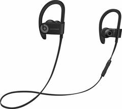 Dre Beats Powerbeats 3 Wireless Ear Hook Bluetooth Headphones - Black - £43.05 GBP