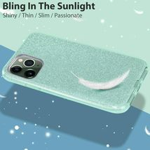 MATEPROX iPhone 11 Case, Bling and Sparkle for iPhone 11 Pro 5.8 inch (Green) image 3