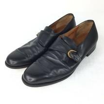 Salvatore Ferragamo Black Shoes Men Size 10.5 - $67.53