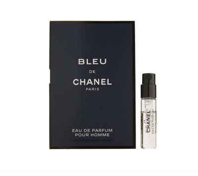 CHANEL Bleu de Chanel Eau de Parfum Sample Travel Spray Men`s Perfume