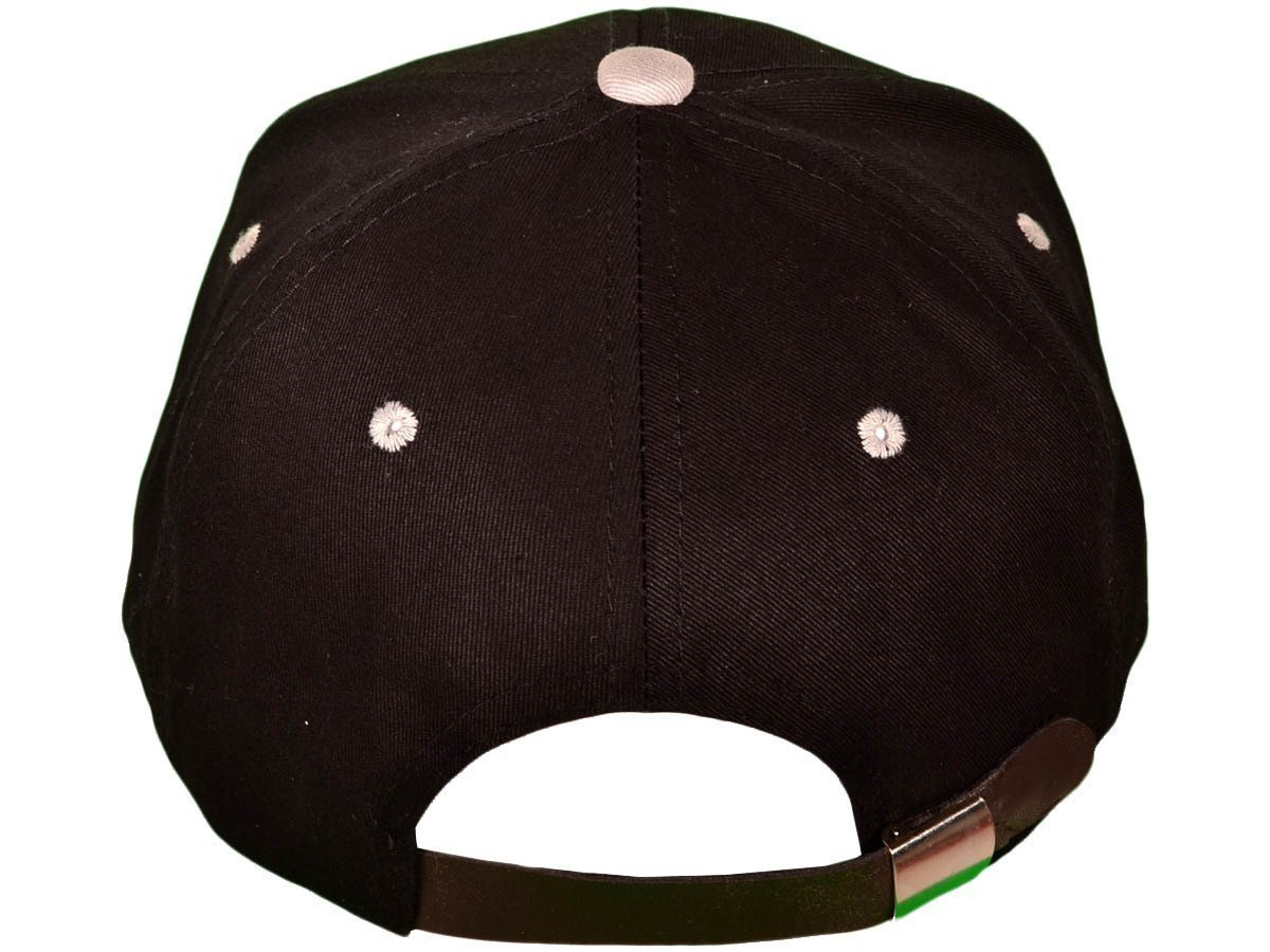 Leather Strap Back Hat One Size Fits Most