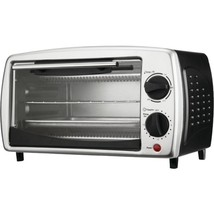 Brentwood Appliances TS-345B 4-Slice Toaster Oven and Broiler (Black) - $53.37