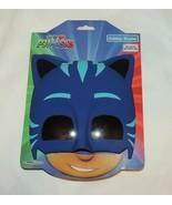 NEW Disney PJ Masks Catboy Shades Sun Stache Costume Sunglasses Mask Blue - $8.90