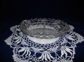 Elegant Fostoria American Divided Oval Serving/ Vegetable Bowl  - $6.92