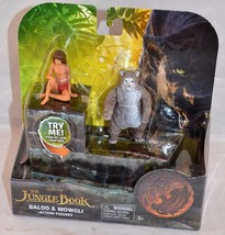 Disney Jungle Book Baloo and Mowgli Action Figures 2 Pack - $12.99