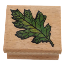 StampCraft Rubber Stamp Oak Leaf Fall Autumn Nature Outdoors Card Making... - $3.99