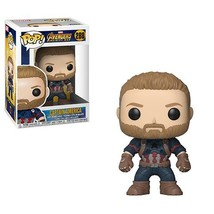 FUNKO Marvel Pop! Vinyl Figure Captain America [Avengers Infinity War] [... - $12.34