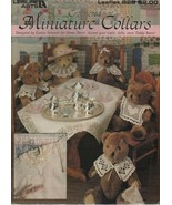 Crocheted Miniature Collars - Leisure Arts - Leaflet 928 - SC - 1991. - $1.27